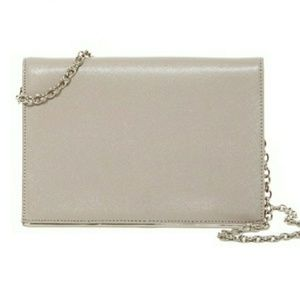 Nordstrom leather Cross body  clutch